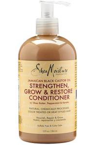 Picture of SheaMoisture, Jamaican Black Castor Oil Rinse Out Conditioner 13 Oz