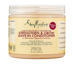 Picture of SheaMoisture Jamaican Black Castor Oil Leave-In Conditioner 16 Oz