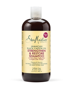 Picture of SheaMoisture Jamaican Black Castor Oil Replenishing Shampoo 16 Oz