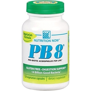 Picture of Nutrition Now Pb 8 Pro-Biotic Acidophilus For Life - 120 Vegetarian Capsules