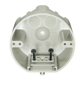 Picture of Allied Moulded  2-3/4 In. Round  Plastic  4 Gang Junction Box  Beige/Tan