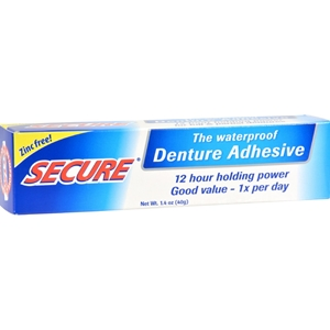 Picture of Secure Denture Bonding Cream, 1.4 Ounce - Pack Of 2.