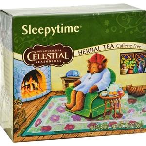 Picture of Celestial Seasonings Sleepytime Herbal Tea Caffeine Free - 40 Tea Bags