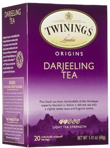 Picture of Twinings Tea, Tea,Darjeeling 20 Bag