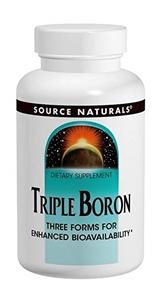 Picture of Source Naturals Triple Boron 3 Mg 100 Capsule