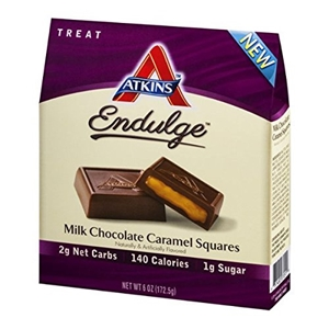 Picture of Atkins Endulge Pieces - Milk Chocolate Caramel Squares - 6.1 Oz