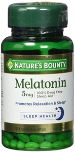 Picture of Melatonin Tabs 5 Mg Max St Nby 60