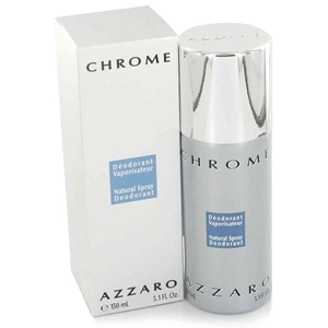 Picture of New Item Azzaro Chrome Deodorant Spray 5.0 Oz Chrome/Azzaro Deodorant Spray Can 5.0 Oz (M)